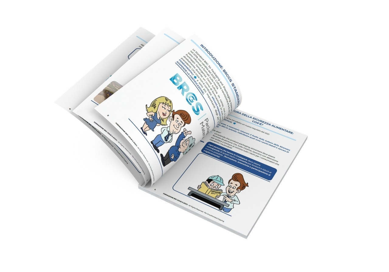 Pagine interne della brochure